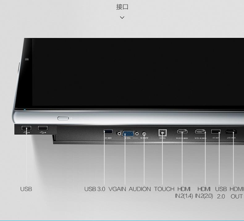 MAXHUB旗舰版设备接口展示