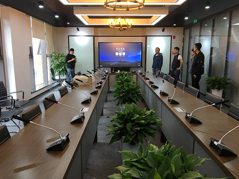 蔚蓝公司使用MAXHUB会议平板