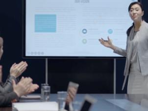 企业会议室显示效果不理想,怎么解决?