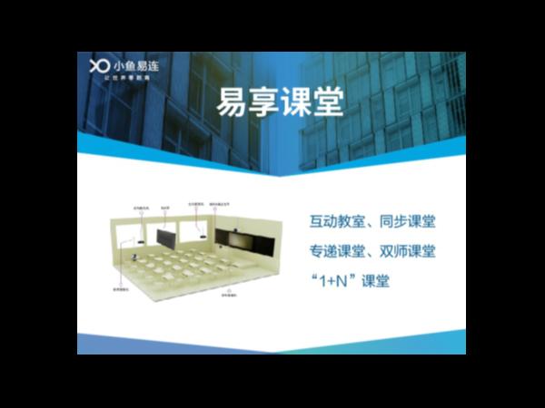 """小鱼易连""""易享课堂""""亮相第76届中国教育装备展览会"""