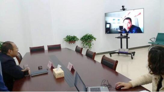 兰考县还开展了远程扶贫培训
