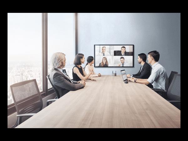 MAXHUB会议平板不仅解决本地会议,还能解决远程会议