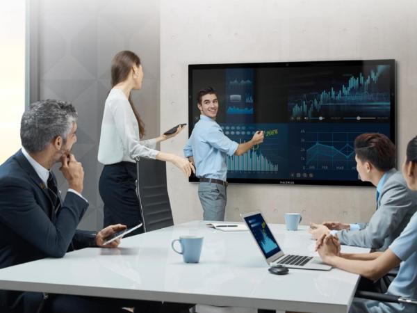 MAXHUB会议平板告诉你无线会议室是怎样的?