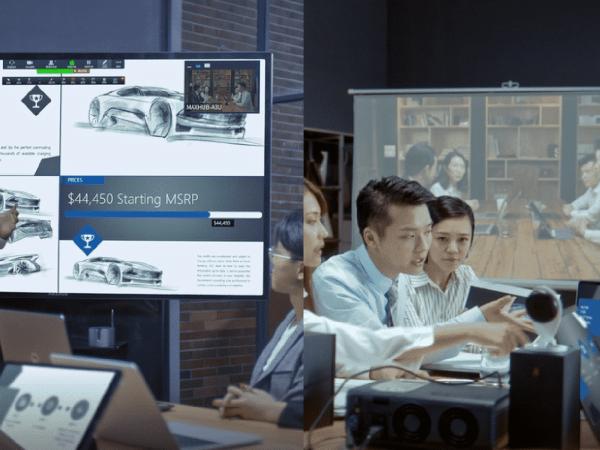 MAXHUB会议平板与投影、电视的不同