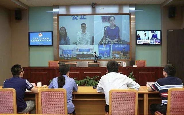 上海市人民检察院第二分院在完成视频会议系统、远程接访和远程提讯项目建设后