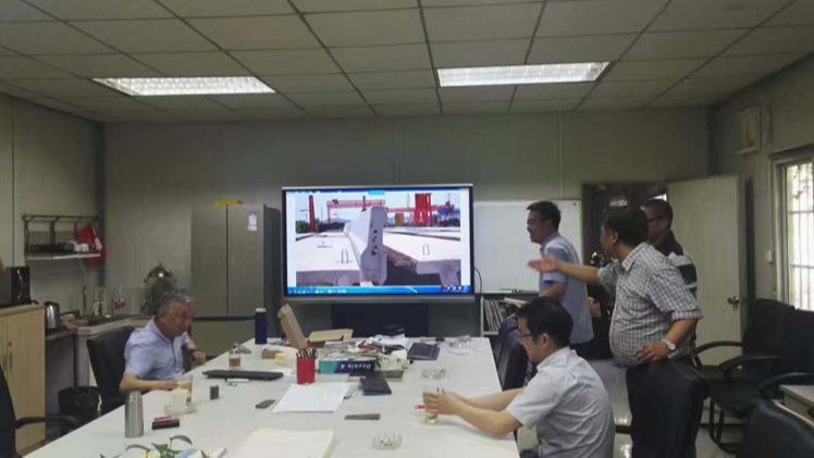 """上海建工集团会议室用MAXHUB会议平板""""替代""""小白板案例"""
