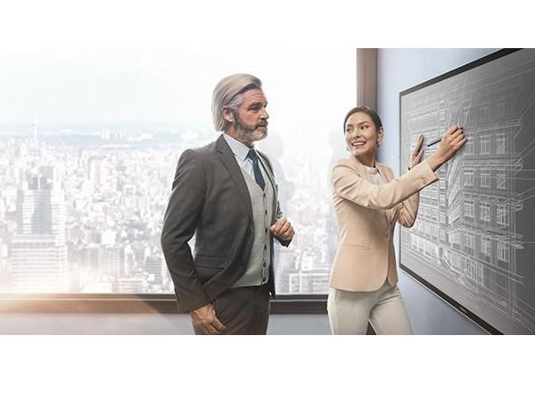 MAXHUB会议平板给企业带来最高效的会议