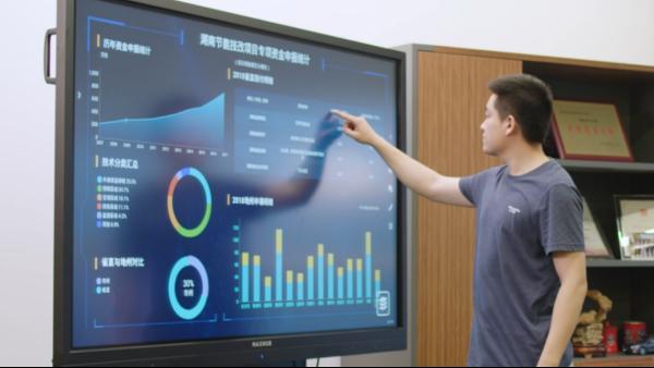 MAXHUB数据可视化、企业展示平台
