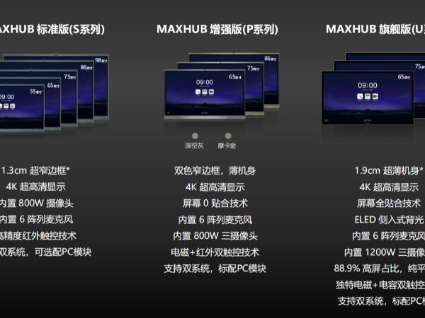 MAXHUB智能会议平板三种触控技术的原理及优劣势
